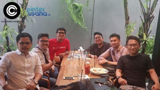 Kolaborasi Concreate Creative x Pinterusaha.ai: Usaha peningkatan brand awareness di Indonesia.