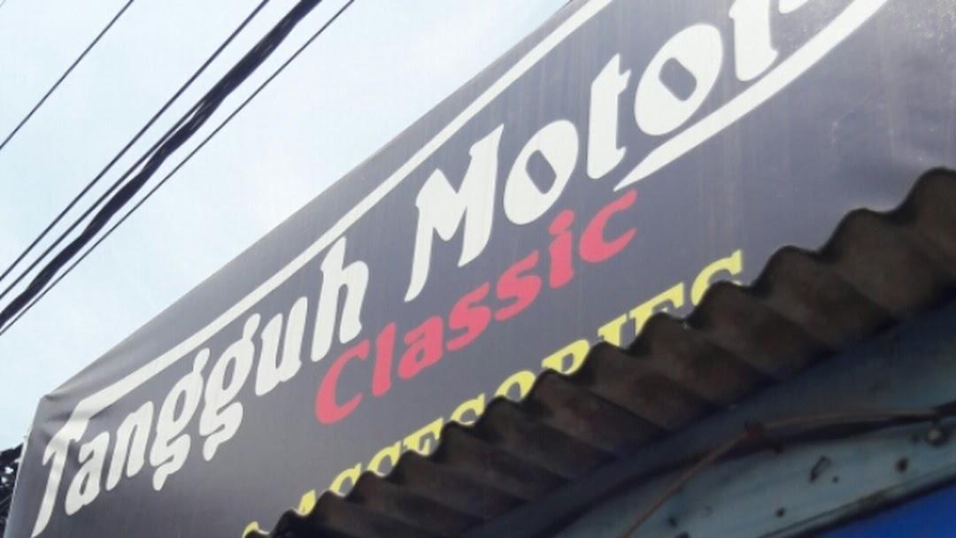 Tangguh Motor Classic, spareparts dan workshop modifikasi motor kekinian
